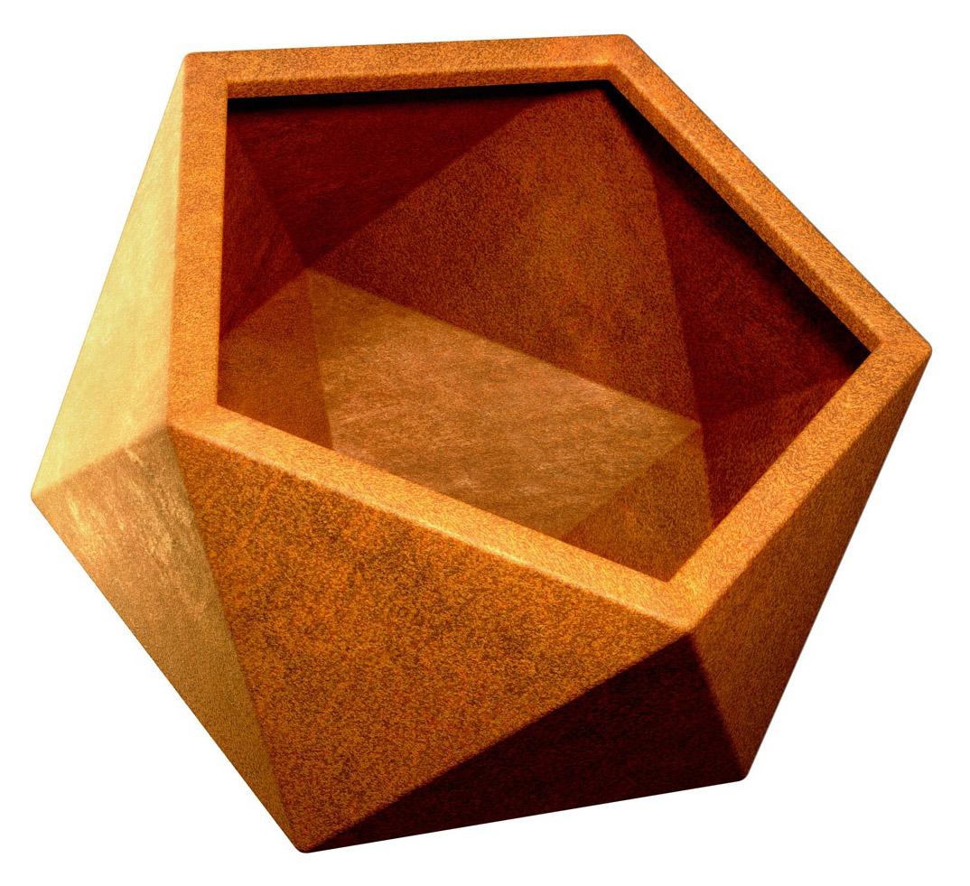 Donica Geometryczna Corten - cortena.pl